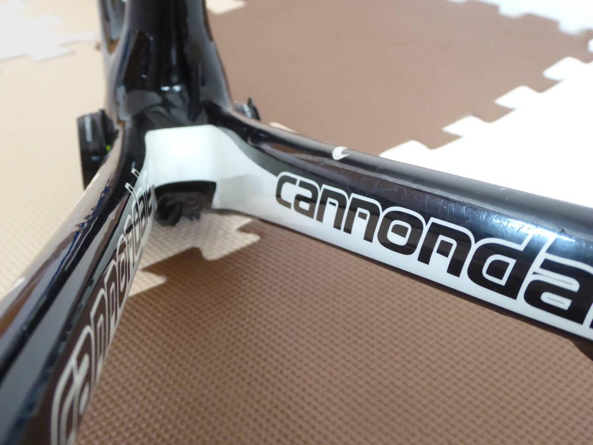 cannondale SUPERSIX Hi-MOD フレームセット (50) キャノンデール スーパーシックス フルカーボン グリーン チームリクイガスREP_画像8