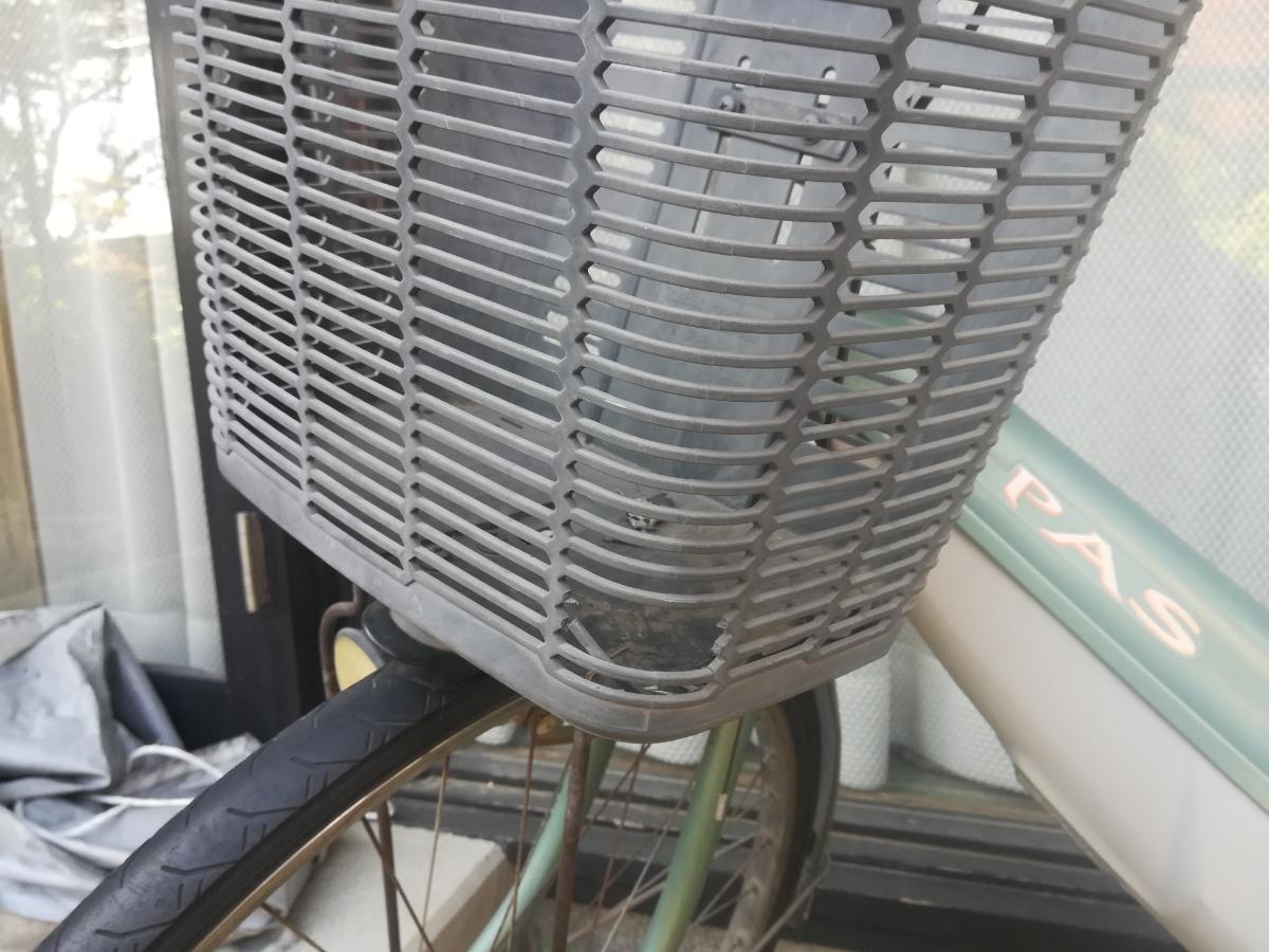 ヤマハ PASS 初代 電動アシスト自転車 ジャンク品_画像2