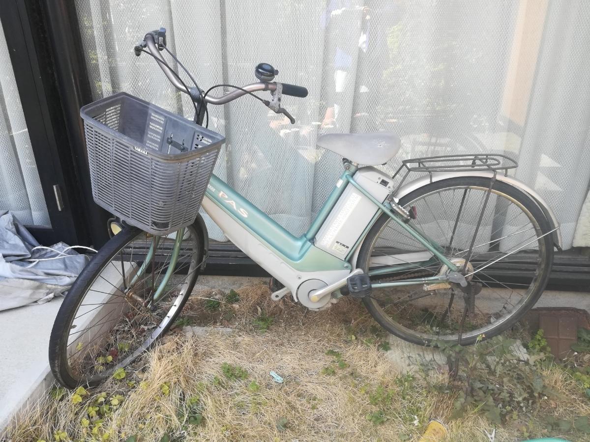 ヤマハ PASS 初代 電動アシスト自転車 ジャンク品