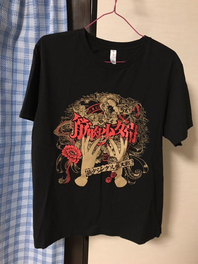 筋肉少女帯 シングル盤大戦 ライブTシャツ Lサイズ