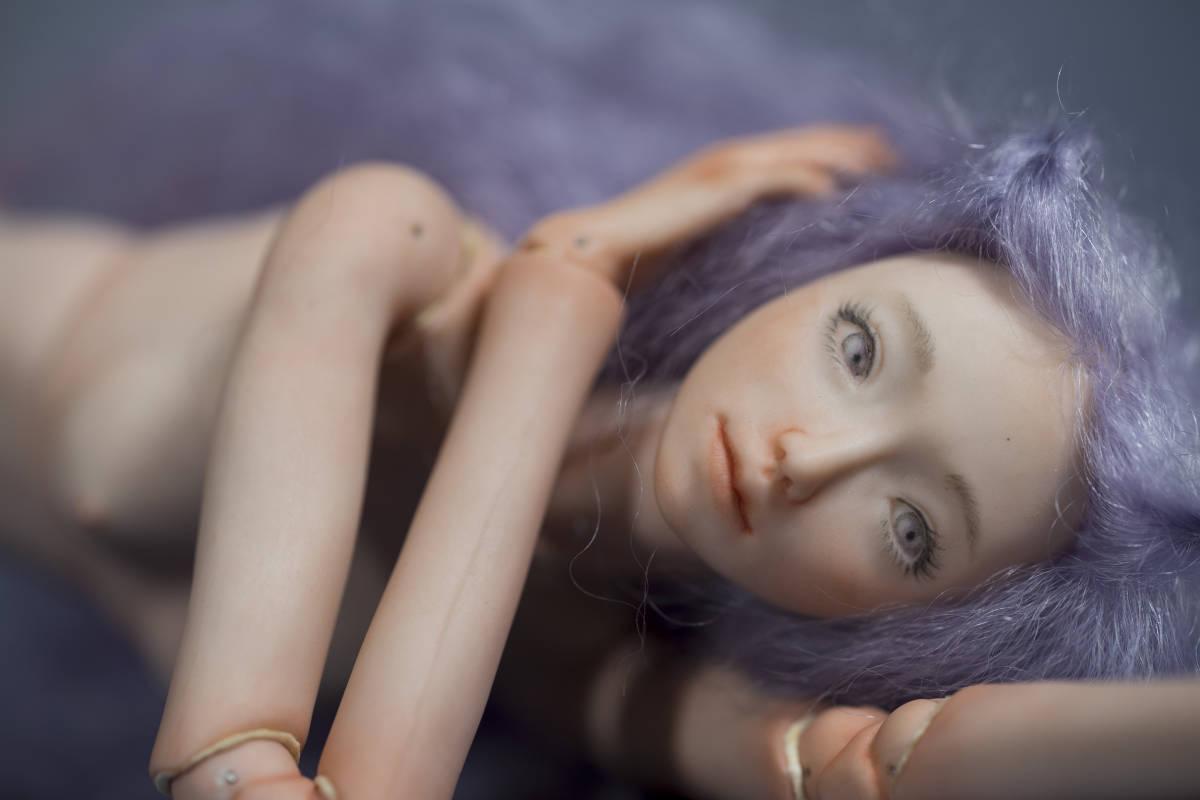 ビスクドール 球体関節人形 創作人形 Chico Doll by Chiemi Takeda_画像7