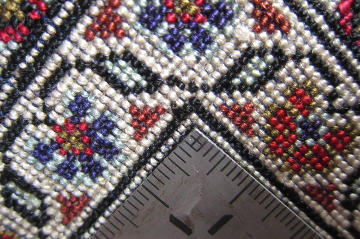 【116×80】シルク100%◆クム産ペルシャ絨毯■1280-300_画像10