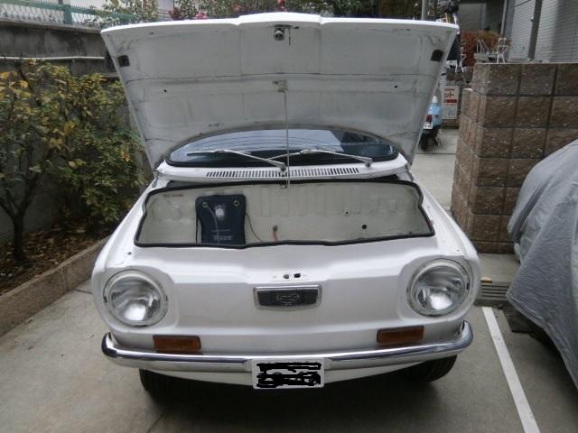 希少 旧車 スバルR-2 左ハンドル 検査付き_画像4
