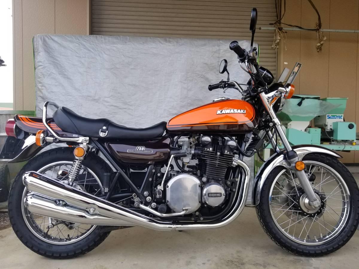 Z2 750RS 昭和49年8月 車検平成32年8月まで_画像3