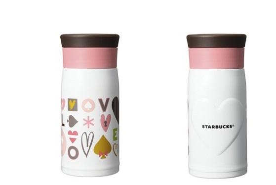 ≪即決有≫スターバックス(Starbucks)◆2016 ウィンター ステンレスボトル ホワイト 350ml ◆未使用品_画像2