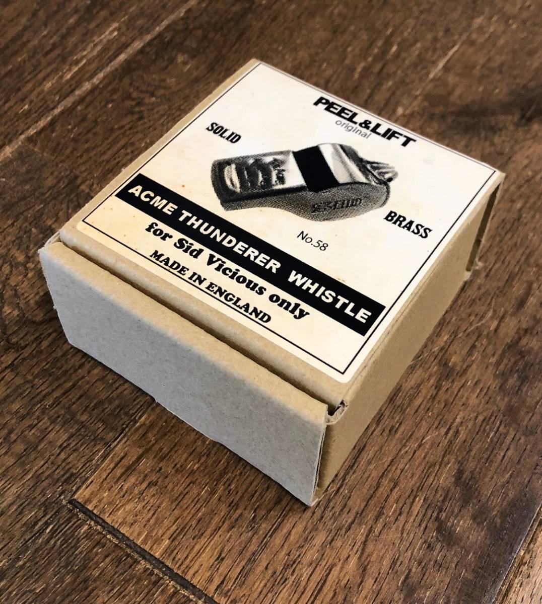 PEEL&LIFT Acme Thunderer Whistle ホイッスル ネックレス シド ヴィシャス _画像7