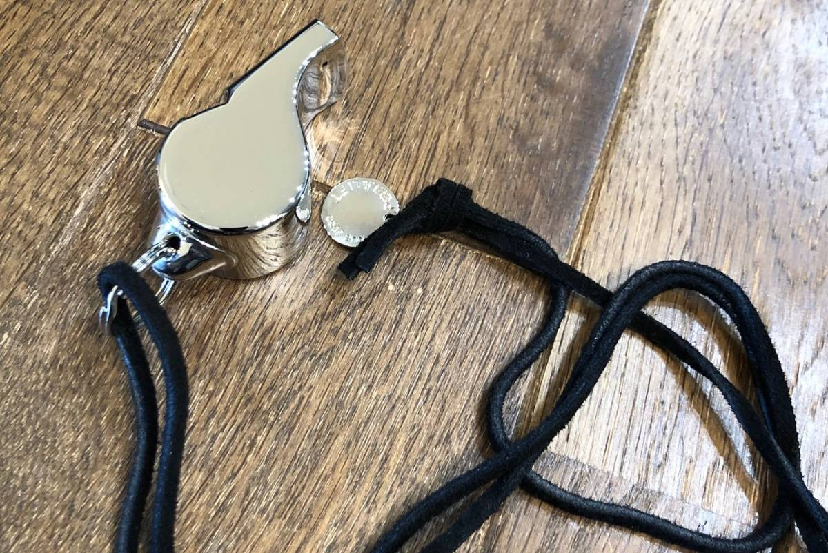 PEEL&LIFT Acme Thunderer Whistle ホイッスル ネックレス シド ヴィシャス _画像3