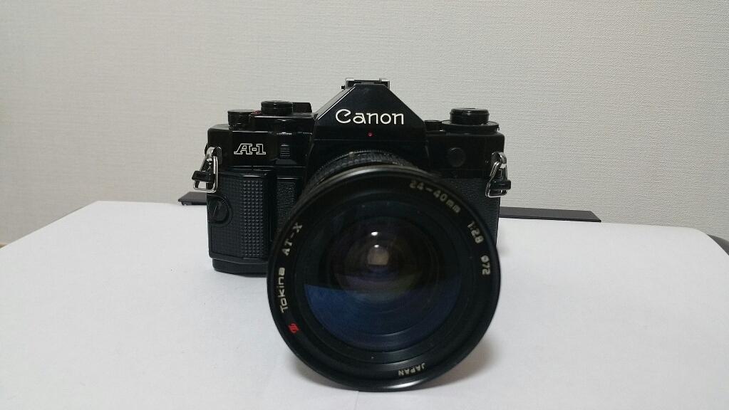 キヤノンA-1 トキナー24-40mm f2.8