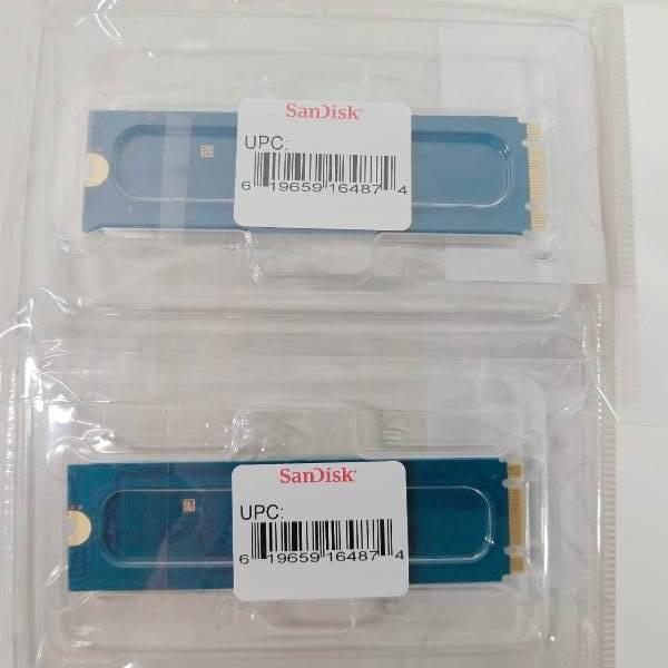SanDisk SSD X600シリーズM.2 2280 128GB SD9SN8W-128G-1122◆ 2個セット 【未開封保管品】_画像2