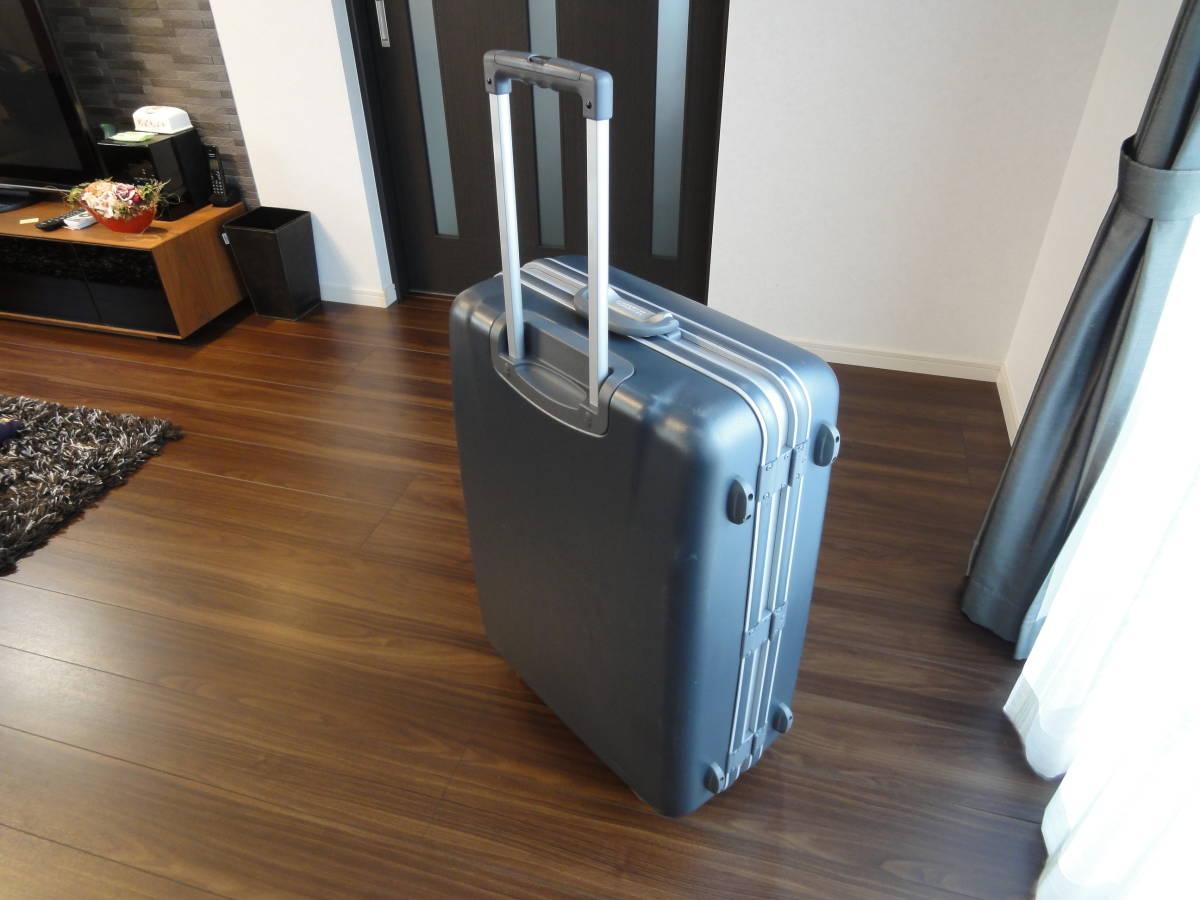 1円出品! AMERICAN TOURISTER by SAMSONITE PIGGY BACK 鍵付き 4輪 大型スーツケース アメリカンツーリスター ピギーケース サムソナイトG