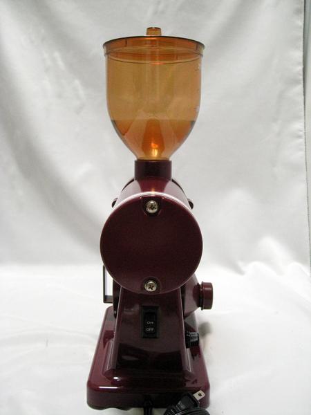 ■ BONMAC コーヒーミル BM-250N レッド 赤 家庭 珈琲 挽く 動作確認済み■_画像4