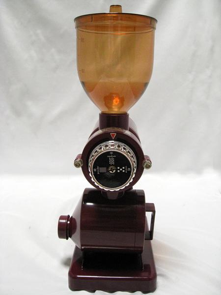 ■ BONMAC コーヒーミル BM-250N レッド 赤 家庭 珈琲 挽く 動作確認済み■_画像5