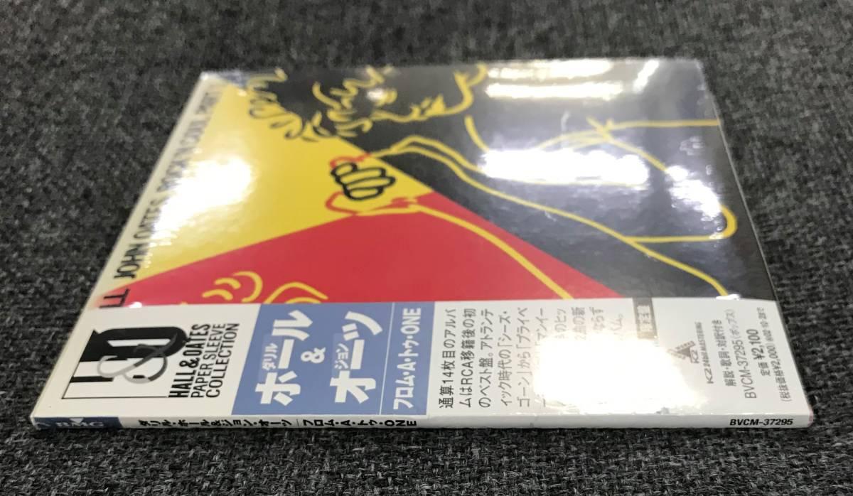 新品未開封CD☆ダリル・ホール&ジョン・オーツ フロム・A・トゥ・ONE(紙ジャケット仕様)/BVCM-37295_画像3