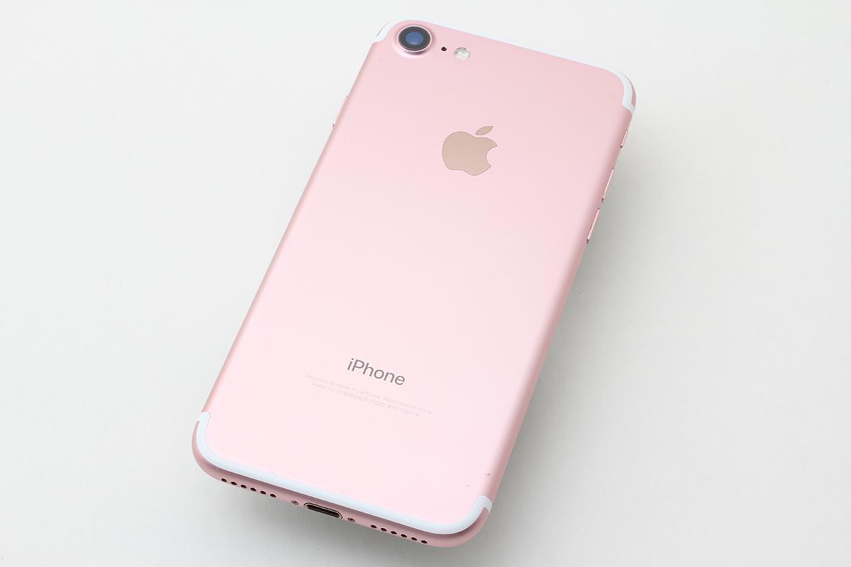 ★超美品★iPhone 7 32GB ローズゴールド(au) 判定〇 バッテリー残量88% アクティベーションロック解除済 #7-80