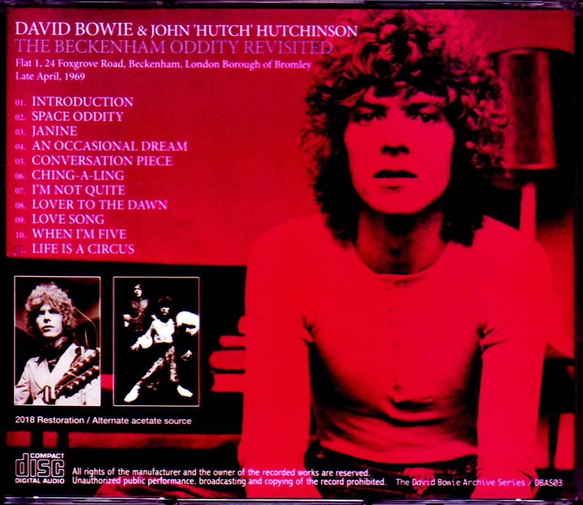 David Bowie デヴィッド・ボウイ/Beckenham Oddity Revisited_画像2