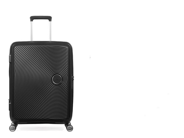 【定価59610円】新品・TSAロック搭載 [アメリカンツーリスター] スーツケース サウンドボックス スピナー ブラック 20インチ 機内持ち込可_画像3
