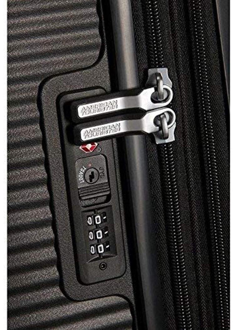 【定価59610円】新品・TSAロック搭載 [アメリカンツーリスター] スーツケース サウンドボックス スピナー ブラック 20インチ 機内持ち込可_画像6