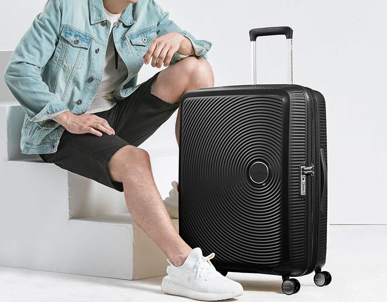 【定価59610円】新品・TSAロック搭載 [アメリカンツーリスター] スーツケース サウンドボックス スピナー ブラック 20インチ 機内持ち込可_画像2