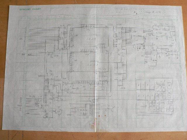 メモリ&D/A変換ボード回路図