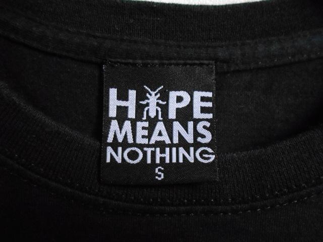 同日2点【送料無料】レア フランス製■バスキア Basquiat HYPE MEANS NOTHING ハイプミーンズナッシング Tシャツ S ブラック _画像7