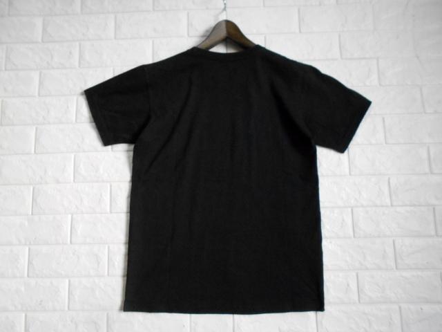 同日2点【送料無料】レア フランス製■バスキア Basquiat HYPE MEANS NOTHING ハイプミーンズナッシング Tシャツ S ブラック _画像3