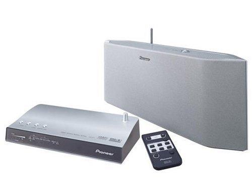 Pioneer DVD 5.1ch サラウンドシステムワイヤレススピーカーシステム シルバー XW-HT1-S