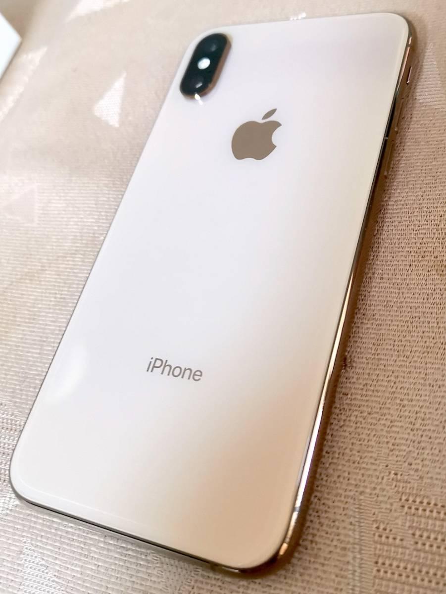 ◇ 極美品 iPhone XS 256GB ゴールド アップルストア正規品 SIMフリー ◇_画像3