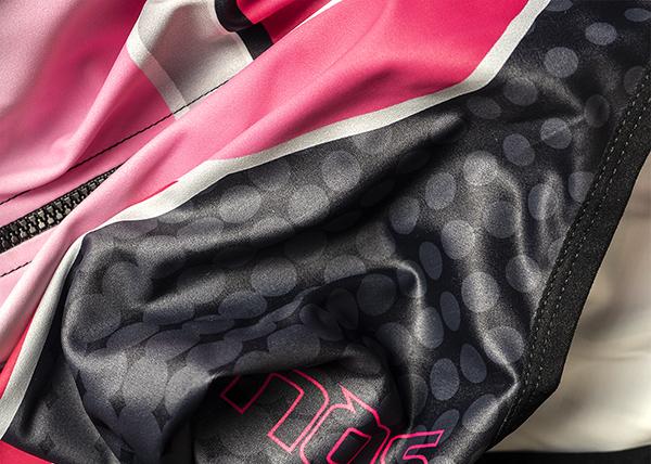 新品 某女子大自転車部 大会用 光沢 つるつる サイクリング ユニフォーム_画像4