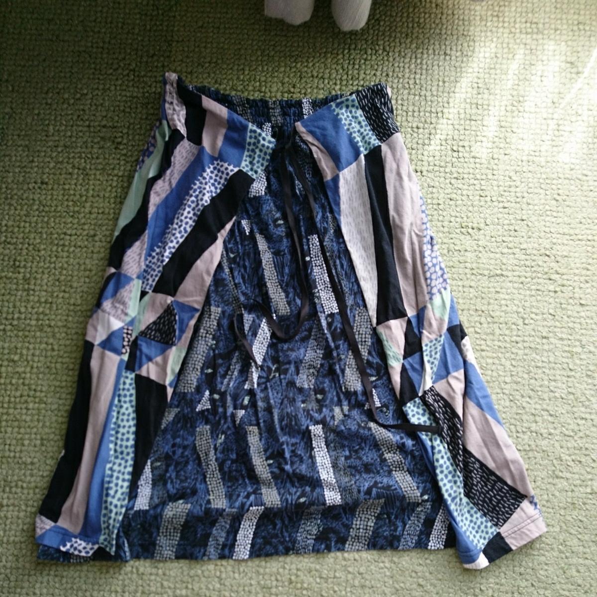 ★marblesudマーブルシュッド変形スカートused