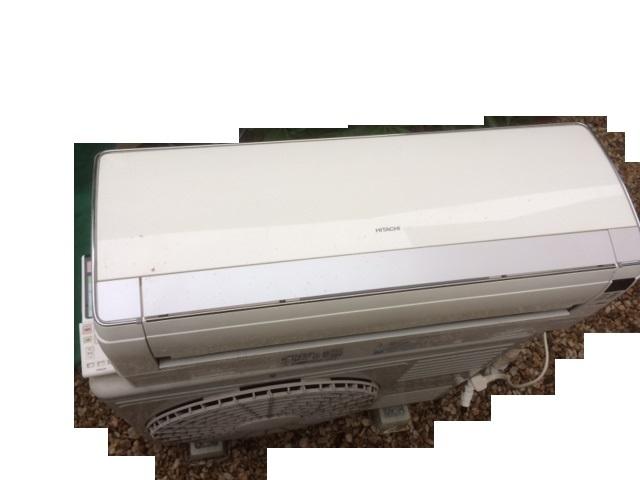 中古動作品★日立 20畳 お掃除エアコン RAS-S63Z2 イオンミスト ステンレスクリーン 白くまくん 200V_画像2