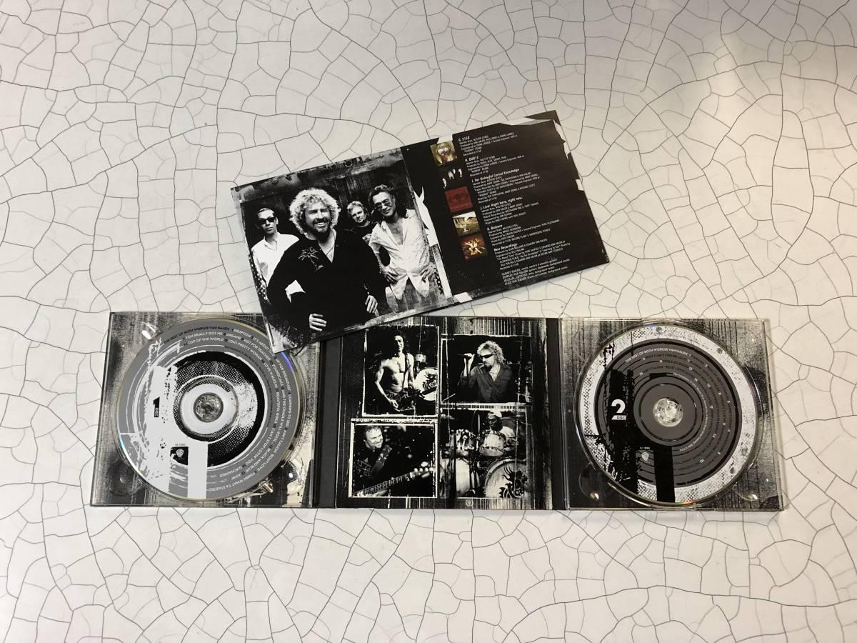 良品 デジパック 2CD van halen the best of both worlds ヴァン・ヘイレン ベスト_画像2