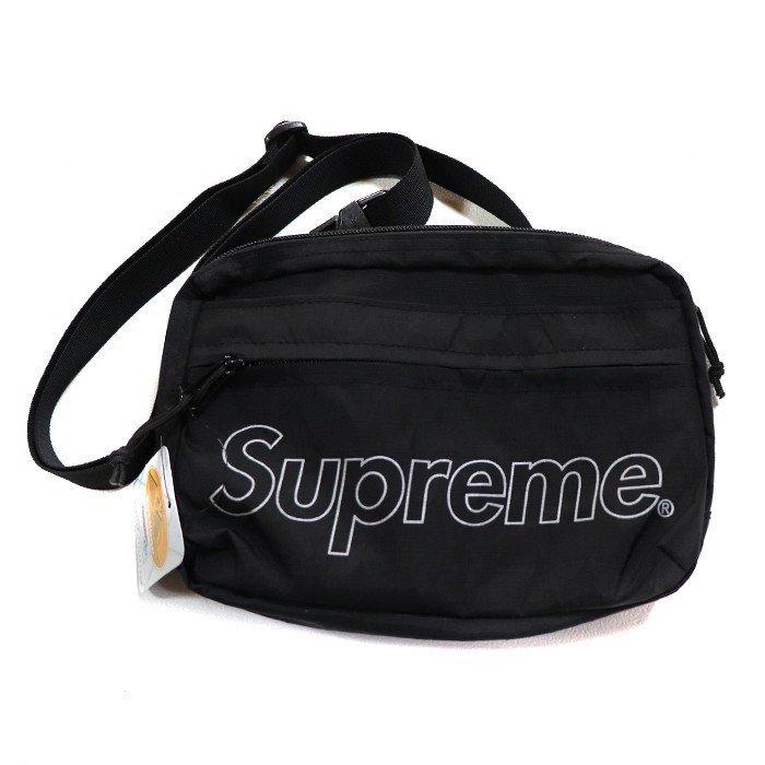 ☆Supreme  18AW Shoulder Bag シュプリーム ショルダーバッグ BLACK ブラック バック Supreme Online ルイヴィトン 新品☆_画像8