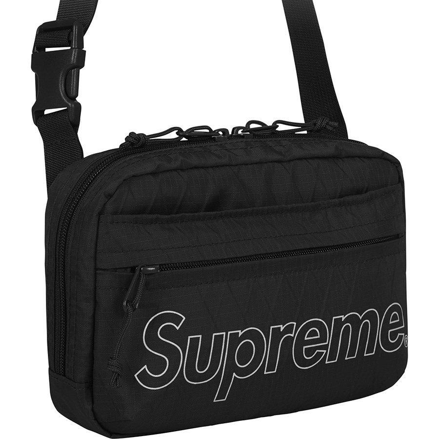 ☆Supreme  18AW Shoulder Bag シュプリーム ショルダーバッグ BLACK ブラック バック Supreme Online ルイヴィトン 新品☆_画像10