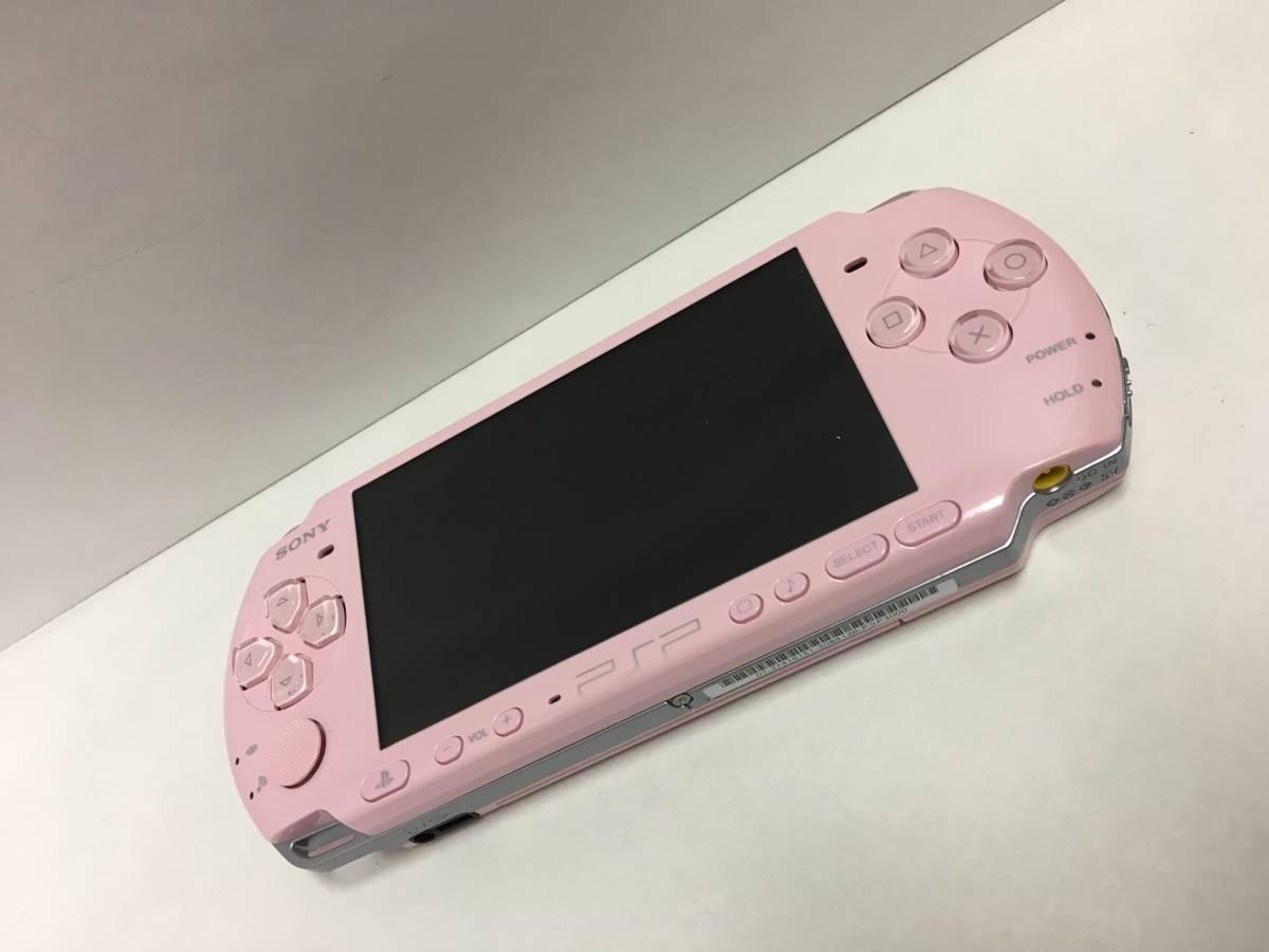 PSP-3000 ブロッサムピンク 動作良好 ポータブル _画像2