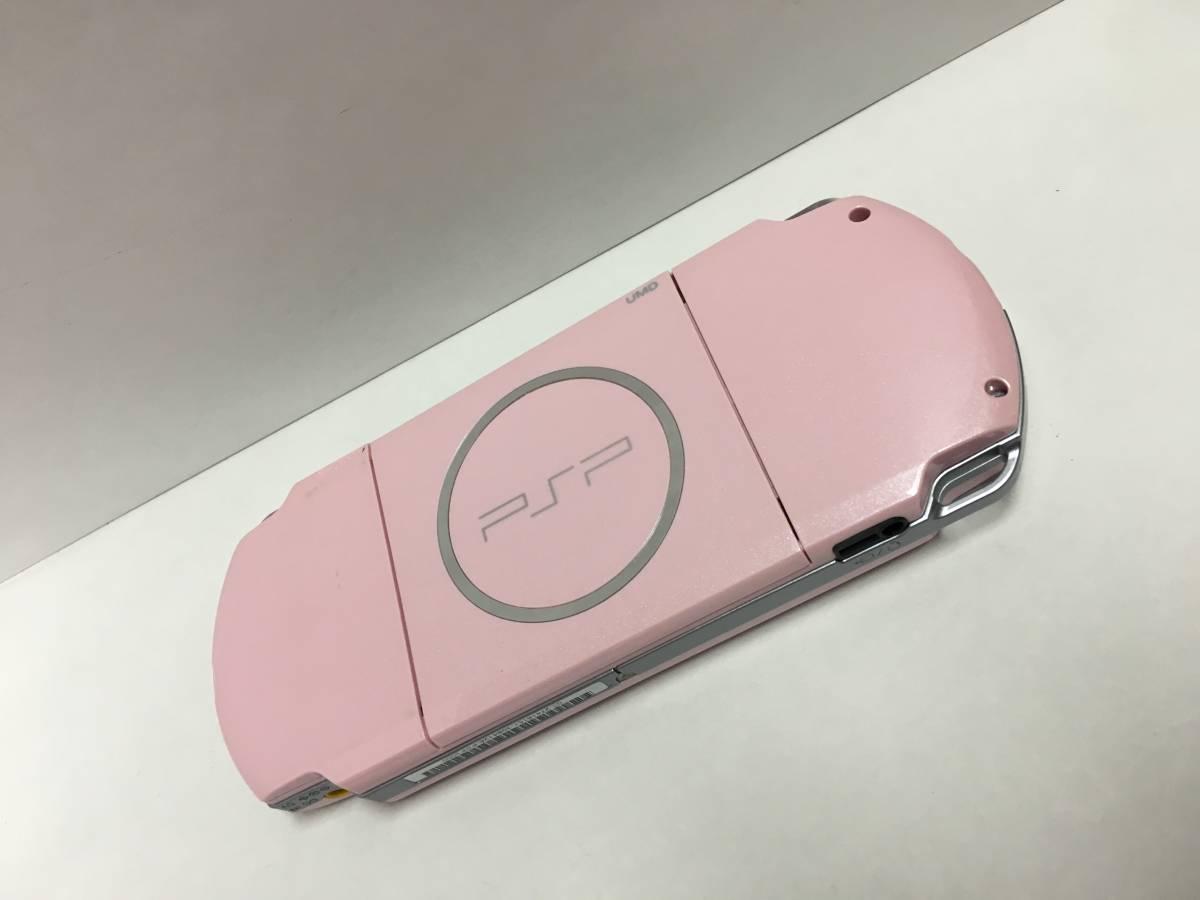PSP-3000 ブロッサムピンク 動作良好 ポータブル _画像3