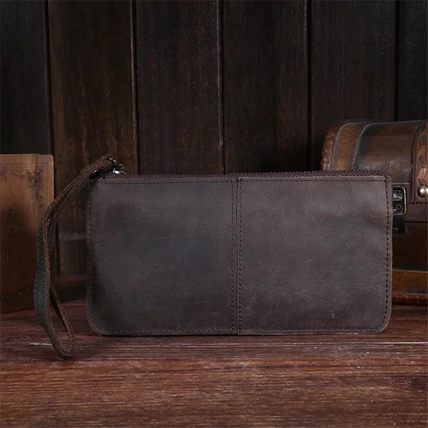 高級 メンズ 長財布 財布 ウォレット レザーウォレット 牛革 高級_画像2