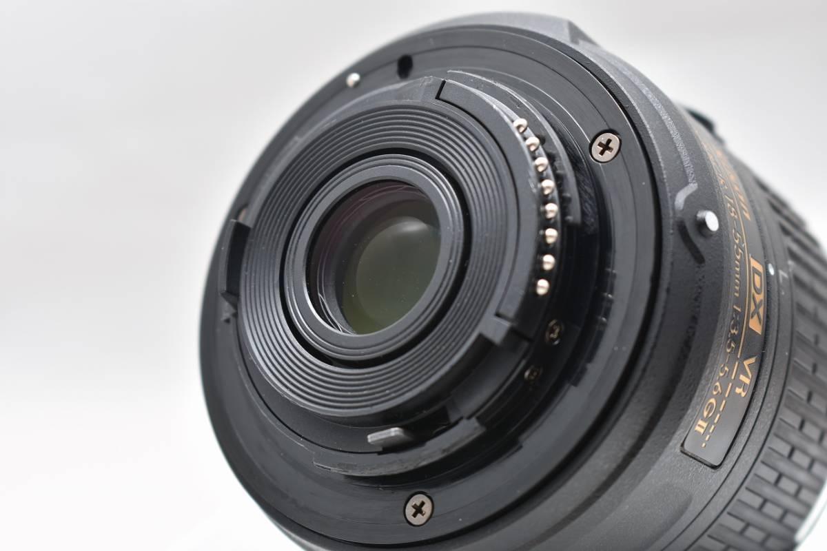 美品★Nikon ニコン D3300 ブラック レンズキット(AF-S DX 18-55mm 1:3.5-5.6G Ⅱ VR)★おまけ付・元箱付_画像3