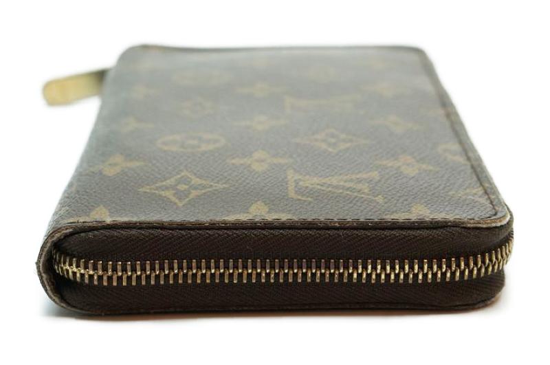 ルイヴィトン Louis Vuitton モノグラム ジッピーオーガナイザー ウォレット M60002 長財布 ラウンドファスナー 定価約10万_画像5