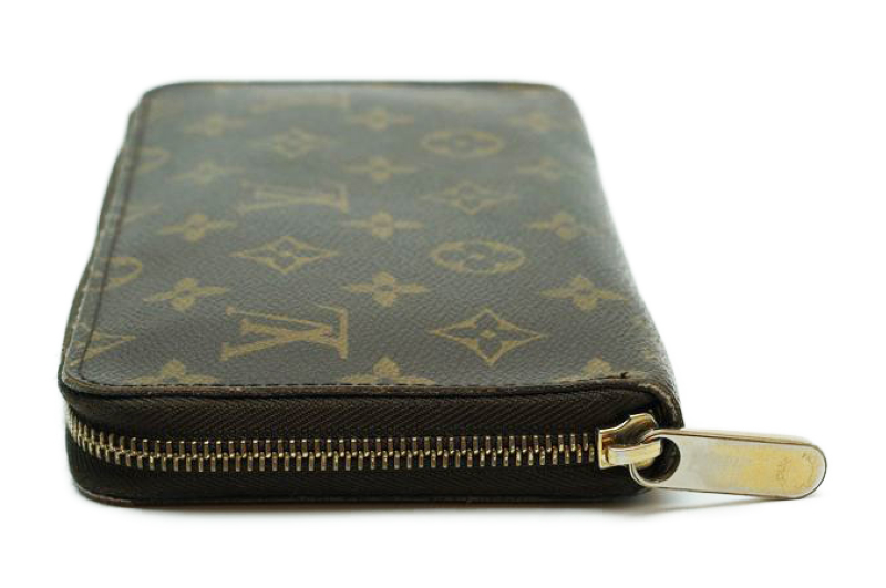 ルイヴィトン Louis Vuitton モノグラム ジッピーオーガナイザー ウォレット M60002 長財布 ラウンドファスナー 定価約10万_画像6