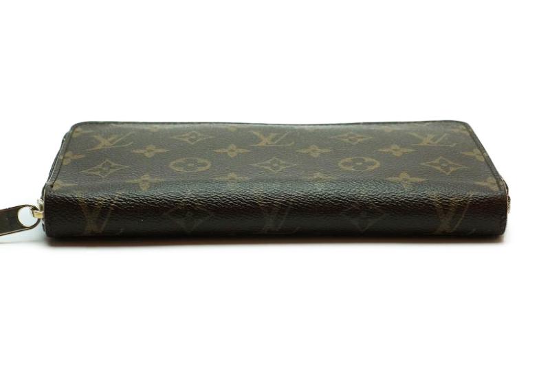 ルイヴィトン Louis Vuitton モノグラム ジッピーオーガナイザー ウォレット M60002 長財布 ラウンドファスナー 定価約10万_画像7