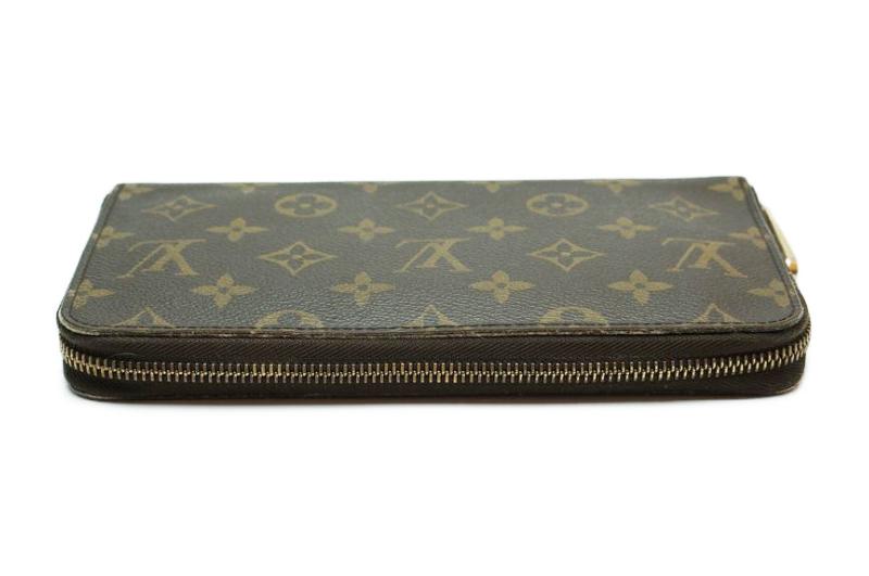 ルイヴィトン Louis Vuitton モノグラム ジッピーオーガナイザー ウォレット M60002 長財布 ラウンドファスナー 定価約10万_画像8