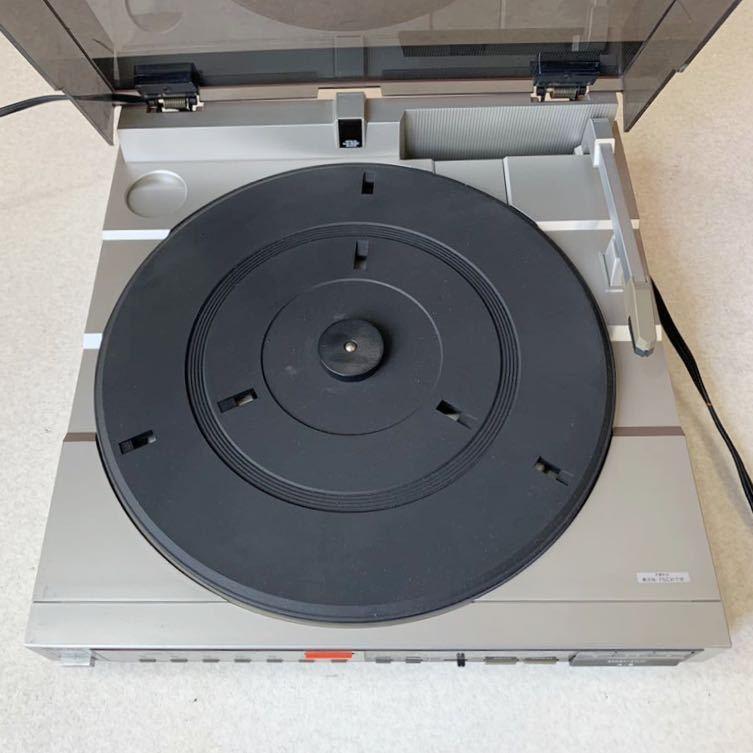 1円 動作品 レア品! Aurex ステレオ レコードプレーヤー SR-V51 音出し再生確認済み 売り切り_画像2
