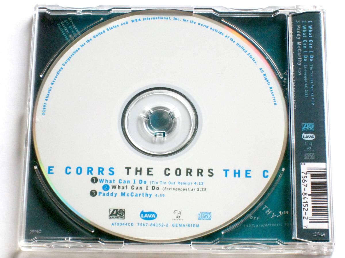 ザ・コアーズ /What Can I Do(ヨーロッパ盤CD)■ Tin Tin Out / The Corrs / Talk On Corners_画像2