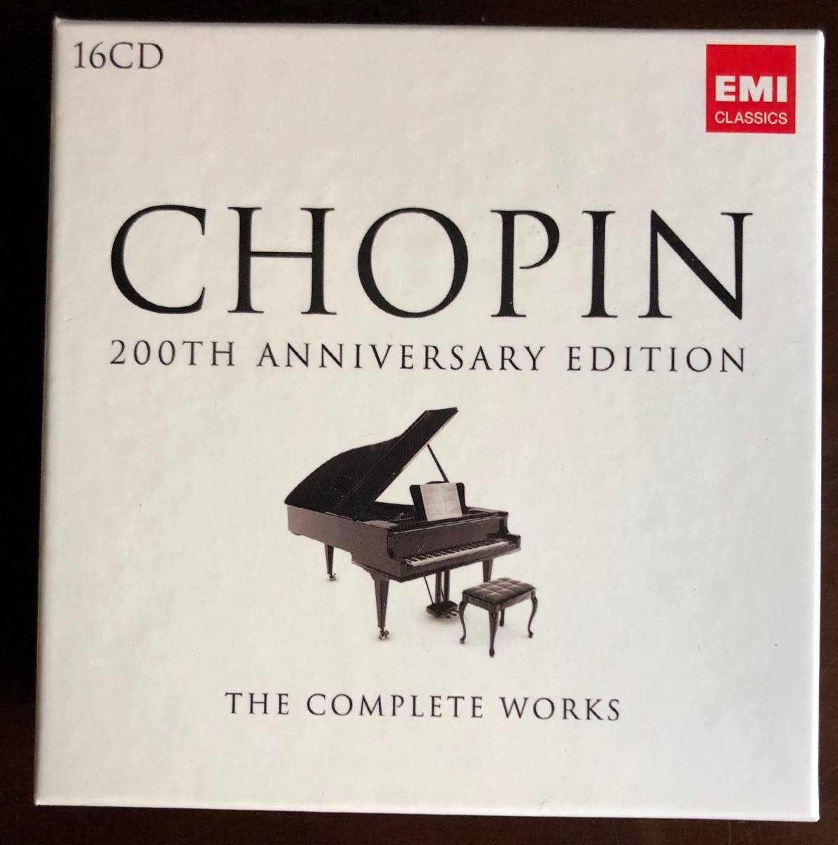 Chopin「The Complete Works 200th Anniversary Edition」EMI Classics 2009年 16枚組