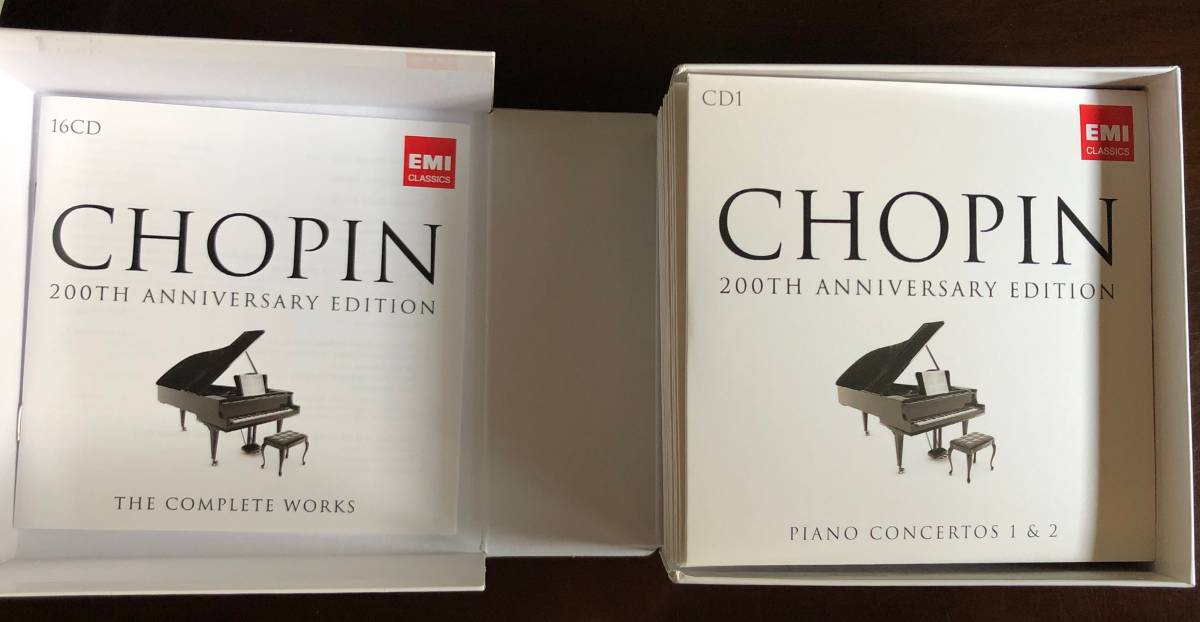 Chopin「The Complete Works 200th Anniversary Edition」EMI Classics 2009年 16枚組_画像3