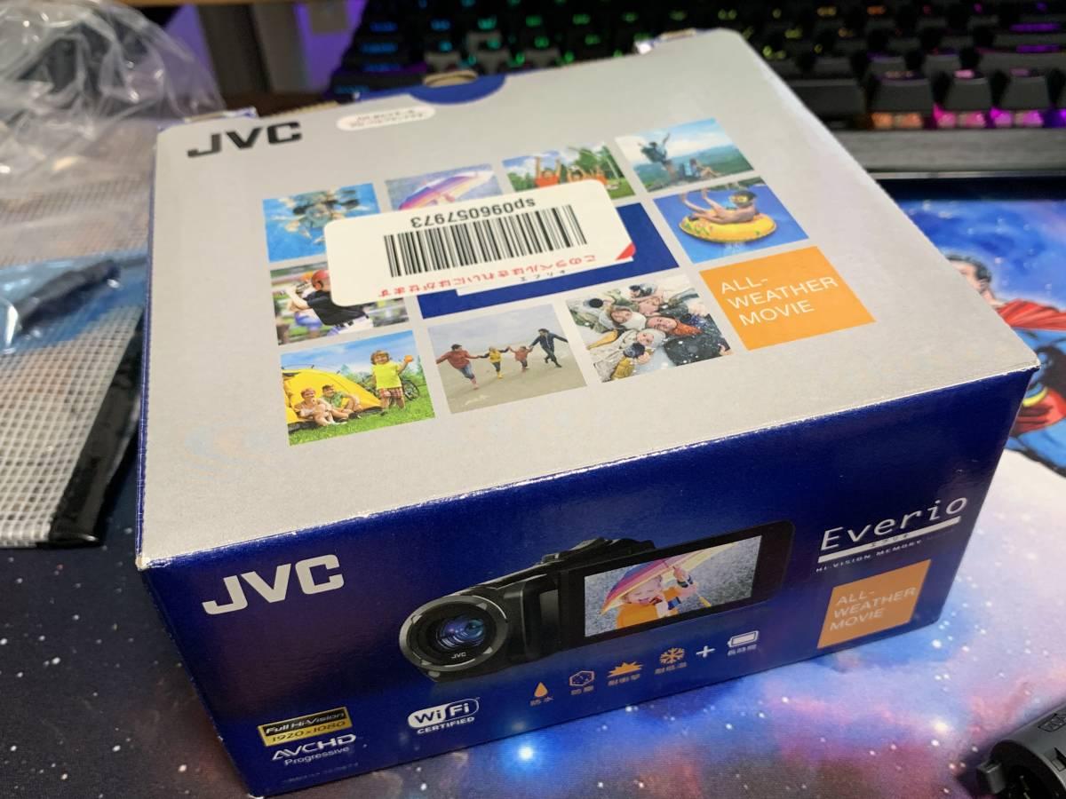 JVC KENWOOD JVC ビデオカメラ EVERIO 防水 防塵 内蔵メモリー64GB ブラック GZ-RX500-B_画像3