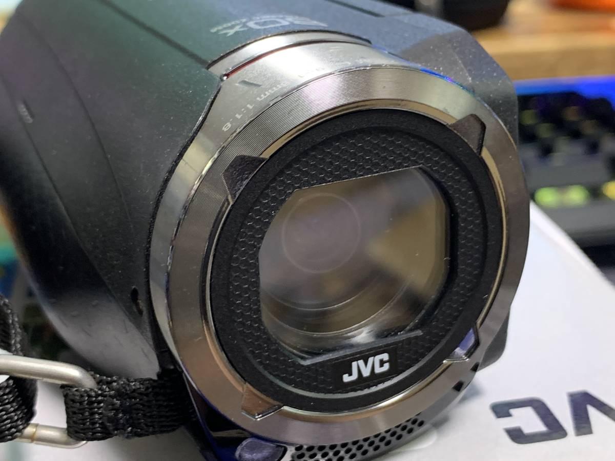 JVC KENWOOD JVC ビデオカメラ EVERIO 防水 防塵 内蔵メモリー64GB ブラック GZ-RX500-B_画像5