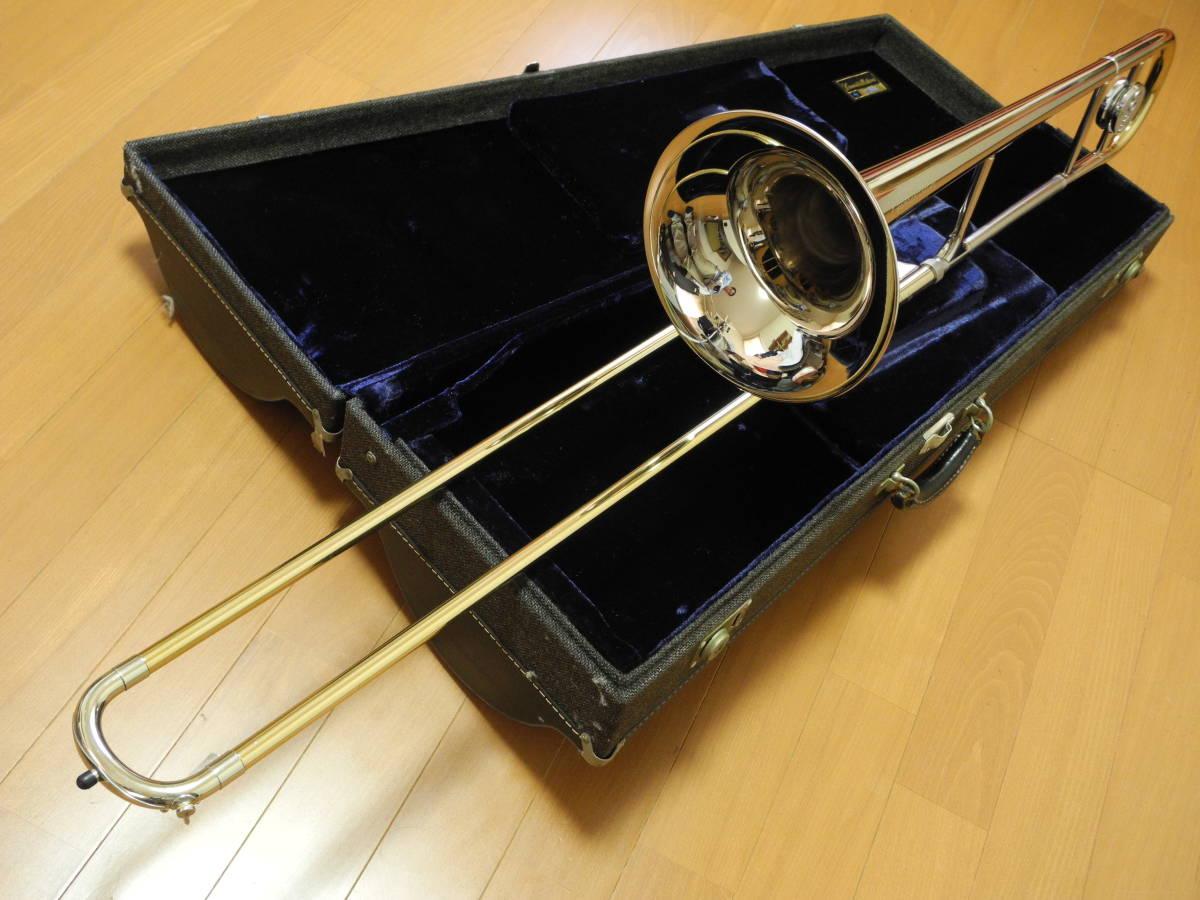 C G CONN corn 48H Connstellation small tube tenor trombone
