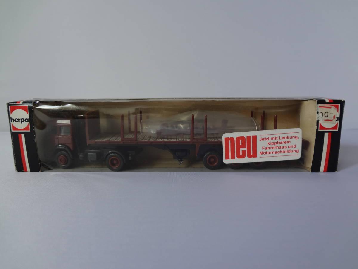 herpa ヘルパ 1/87 Magirus-Deutz Rungenpritsche 808276 トラック
