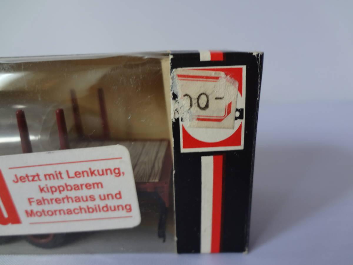 herpa ヘルパ 1/87 Magirus-Deutz Rungenpritsche 808276 トラック_画像10